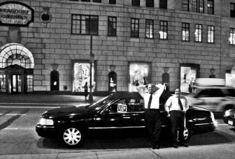 new york limo drivers, waiting.....