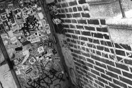 stickers and graffiti